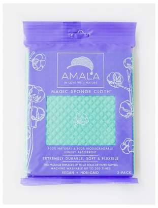 Amala Highly Absorbent Magic Sponge Cloth - 3pk