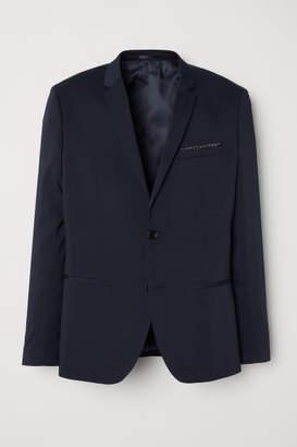 H&M Super Skinny Fit Blazer - Blue