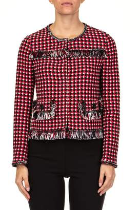 Moschino Cotton And Viscose Jacket