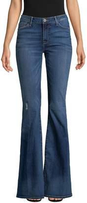Hudson Women's Mia Midrise Flare Jeans
