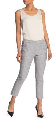 Amanda & Chelsea Glenn Plaid Straight Leg Pants