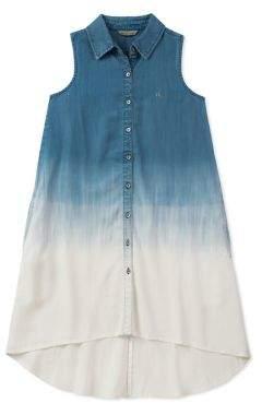 Calvin Klein Jeans Girl's Ombre Top