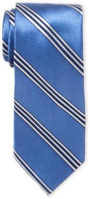 Nautica Cobalt Stripe Silk Tie