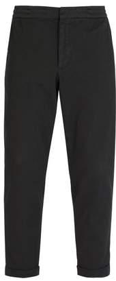 Barena Venezia - Stretch Cotton Twill Trousers - Mens - Black