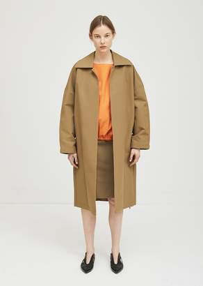 Ter Et Bantine Cotton Trench Coat Camel