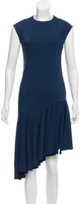 Akris Punto Asymmetrical Midi Dress