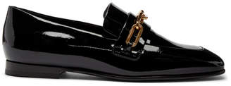 Burberry Black Patent Chillcot Loafer