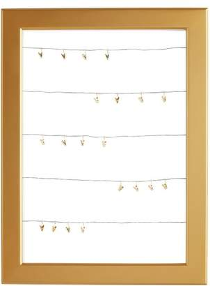 Pottery Barn Teen Statement Cable Frame With Dry-Erase Board, Gold, Gold