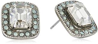 Sorrelli Aegean Sea Lovely Luxury Swarovski Crystal and Rhinestone Earrings
