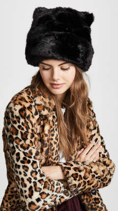Kate Spade Faux Fur Hat with Ears