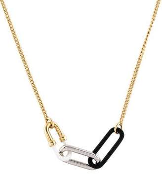 Marc by Marc Jacobs Bubble Chain-Link Pendant Necklace