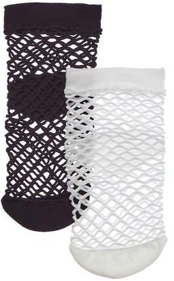 Emilio Cavallini 2Pk Medium Fishnet Socks