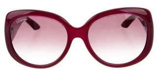 Salvatore Ferragamo Logo Oversize Sunglasses w/ Tags