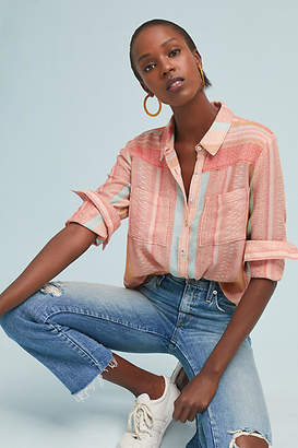 Maeve Calipatria Oversized Buttondown