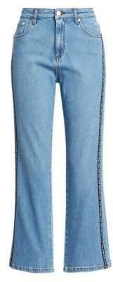 MSGM Logo Stripe Jeans