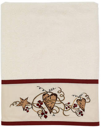 Avanti Hearts and Stars Bath Towel Bedding