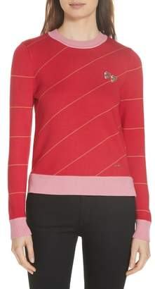 Ted Baker Color by Numbers Xavier Stripe Sweater
