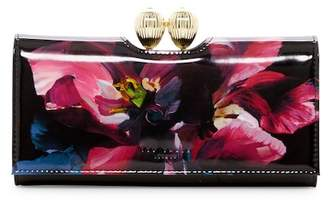 Ted Baker Rosia Impressionist Bobble Leather Matinee Wallet