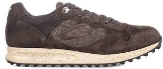 Alberto Guardiani Brown Sport Man Patwin Suede Sneakers
