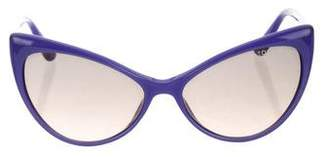 Tom Ford Anastasia Cat-Eye Sunglasses