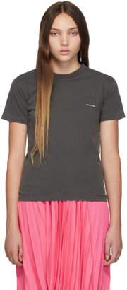 Balenciaga (バレンシアガ) - Balenciaga ブラック ミニ ロゴ T シャツ