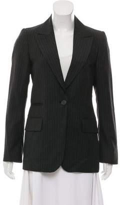 Gucci Pin Stripe Structured Blazer
