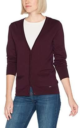 More & More Women's Strickjacke Regular Fit Long Sleeve Cardigan,(Manufacturer Size: 40)