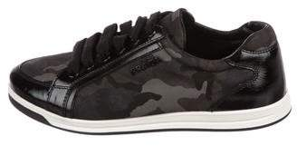 Prada Sport Camo Low-Top Sneakers