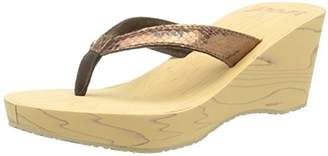Reef Women's REEFWOOD II Wedge Sandal