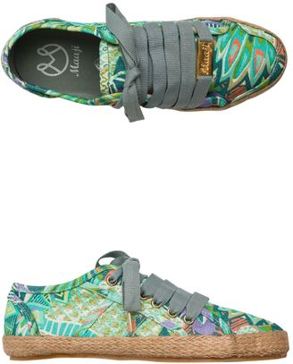 Maaji Floral Printed Sneakers $86 thestylecure.com