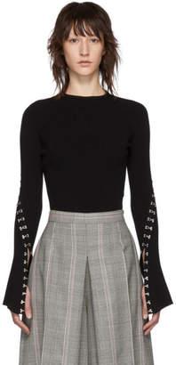 Alexander McQueen Black Hook Sweater