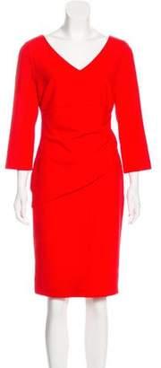 Diane von Furstenberg Midi V-Neck Dress