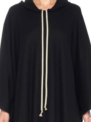 Rick Owens 'hooded Coat' Cape