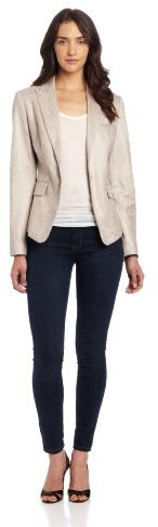 Calvin Klein Women's Peak Lapel Jacket