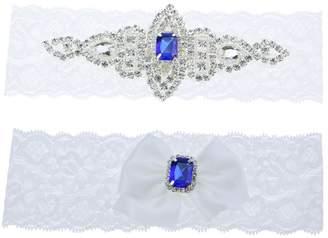 Keepsake Topwon Wedding Garter Set / Bridal Garter / Lace Garter and Toss Garter