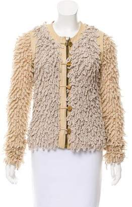 Rag & Bone Collarless Textured Jacketc