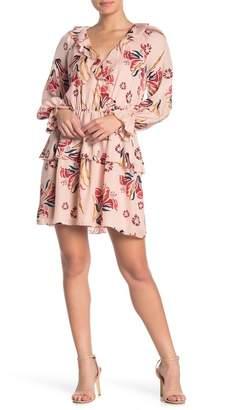 Joie Nour Floral Tiered Silk Dress