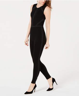 GUESS Adora Studded Sleeveless Jumpsuit