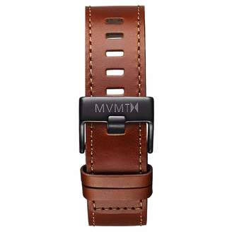 MVMT Mens Chrono 45mm Series22mm Natural Leather