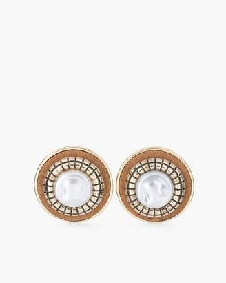 Chico's Jessica Clip-On Stud Earrings