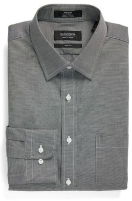 Men's Nordstrom Men's Shop Trim Fit Non-Iron Solid Dress Shirt $39 thestylecure.com