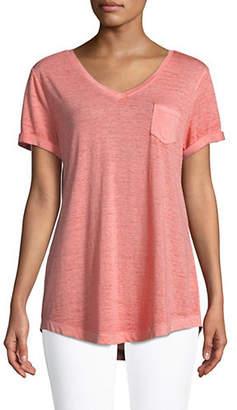 Style&Co. STYLE & CO. Burnout T-Shirt