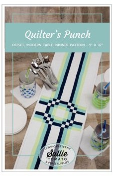 Sallie Tomato Quilters Punch Table Runner Pattern