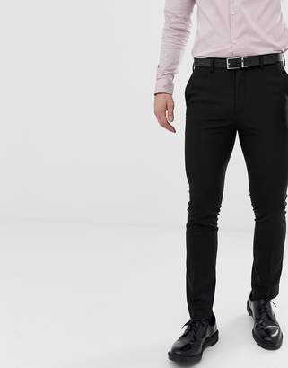 New Look Smart Skinny Pants In Black