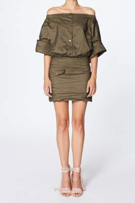Nicole Miller Eliza Shoulder Dress