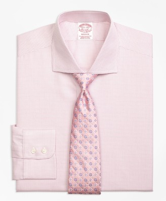 Brooks Brothers Madison Classic-Fit Dress Shirt, Framed Check