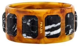 Prada Marble & Acrylic Bangle Marble & Acrylic Bangle