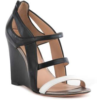 Eight Fifteen Tilt Colorblock Wedge Sandal