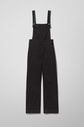 Weekday Jolen Denim Jumpsuit - Black
