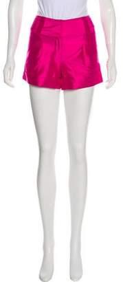 Diane von Furstenberg Silk Mini Shorts